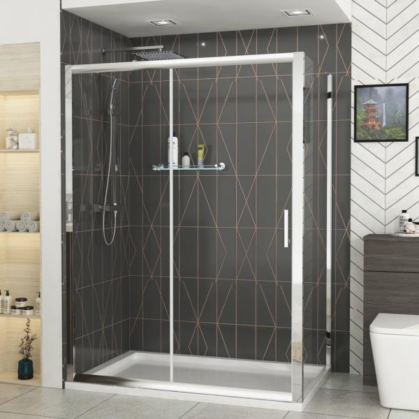 Sliding shower doors in the uk