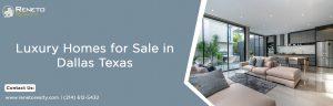luxury homes for sale Dallas TX